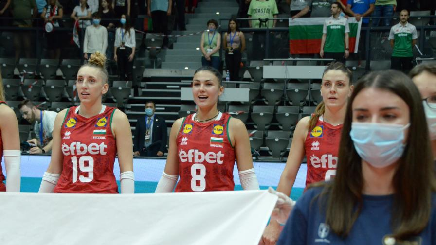 България спечели Златната лига