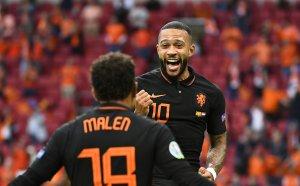 НА ЖИВО: С. Македония - Нидерландия 0:1, греда и отменен гол за съседите