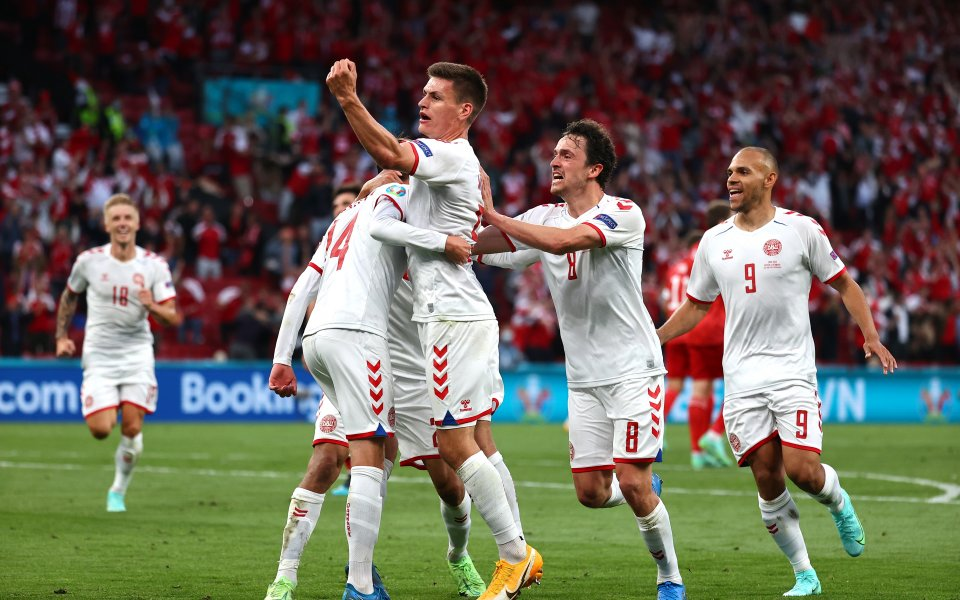 """Дания ще изиграе първия си мач далеч от стадион """"Паркен"""""""