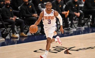 Крис Пол прескочи границата от 20 хиляди точки в НБА при победа на Сънс срещу Лейкърс