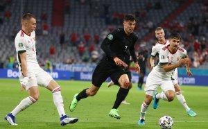 ГЛЕДАЙТЕ НА ЖИВО: Германия 0:1 Унгария, предстоят решаващи втори 45 минути