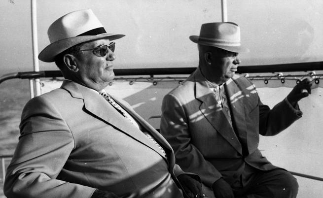 Йосип Броз Тито и Никита Хрушчов