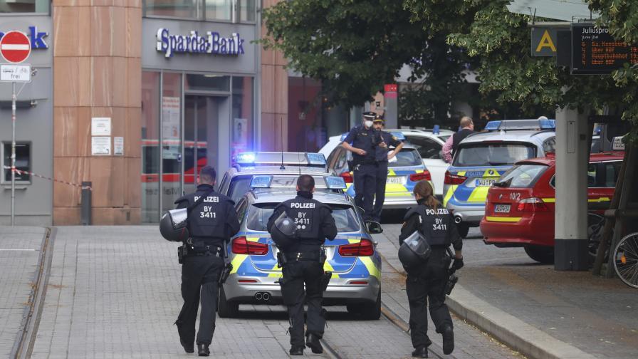 Нападение с нож в Германия, жертви