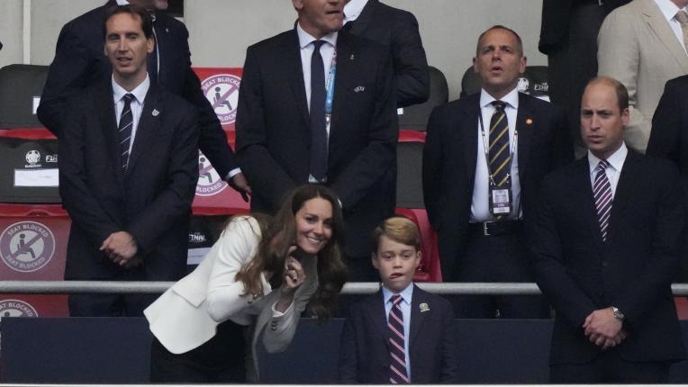 Кейт Мидълтън на финала на Евро 2020