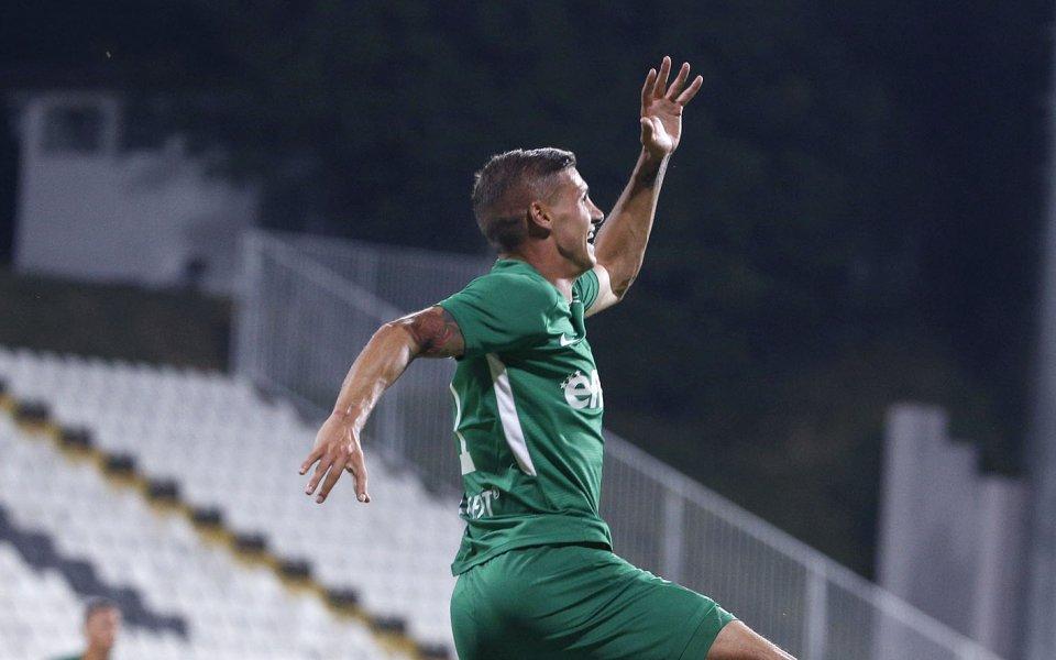 Играчът на мача в срещата между Лудогорец и Локомотив Пловдив
