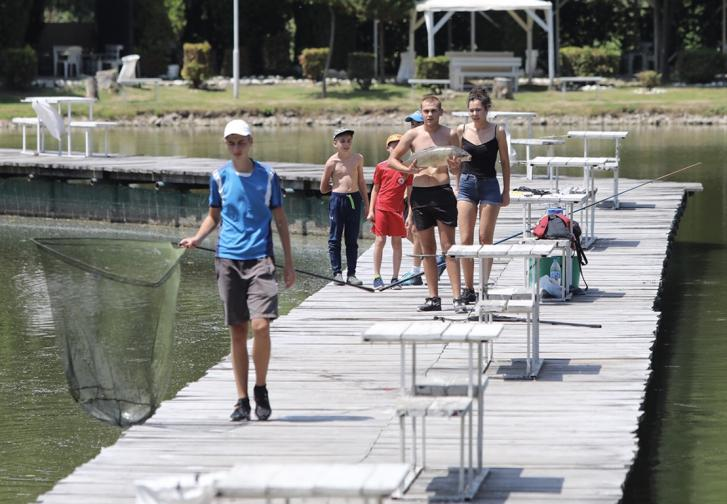 жега софия парк възраждане температура фонтан прохлада разхлаждане високи температури