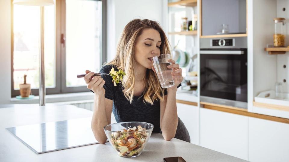 жена вода храна диета