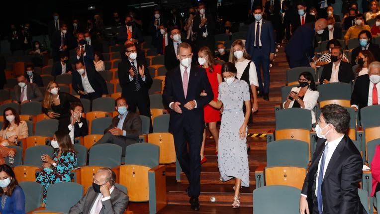 """Кралица Летисия в романтична рокля за наградите на Фондация """"Принцеса на Жирона"""""""