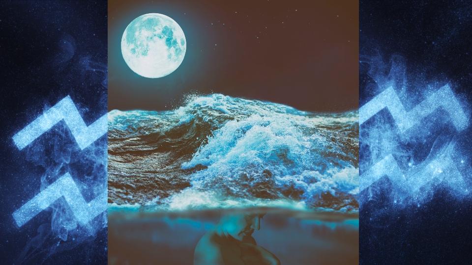 пълнолуние водолей астрология луна