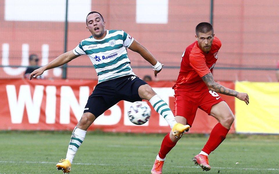 Царско село и Черно море завършиха 0:0 в мач от