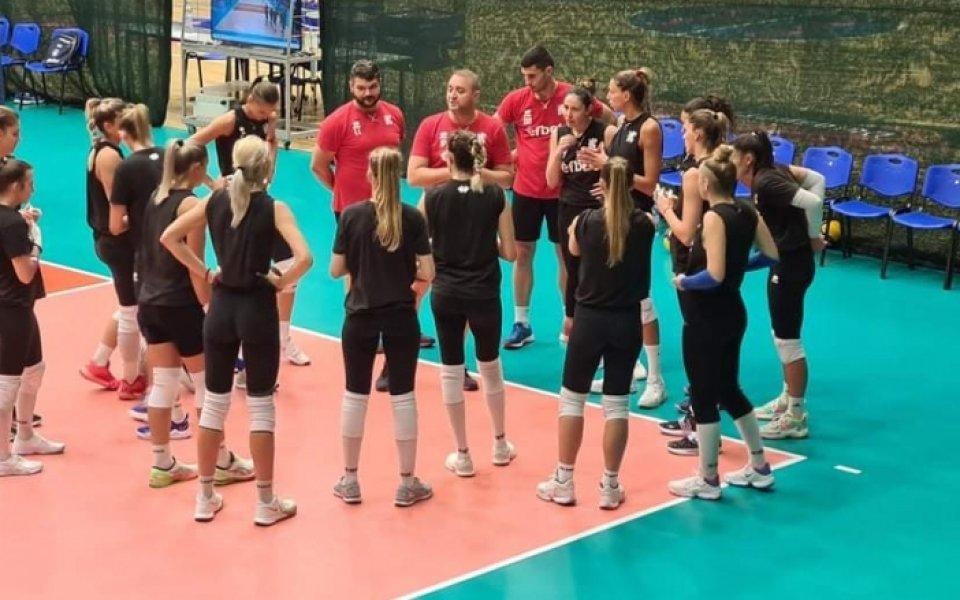 Женският национален отбор по волейбол надигра Украйна с 3:1 (19:25,