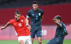 НА ЖИВО: Египет 0:1 Аржентина, Георги Кабаков ще ръководи двубоя на Токио 2020