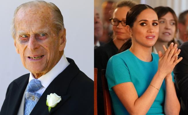 """Меган ще пише за """"болката от смъртта на принц Филип"""""""