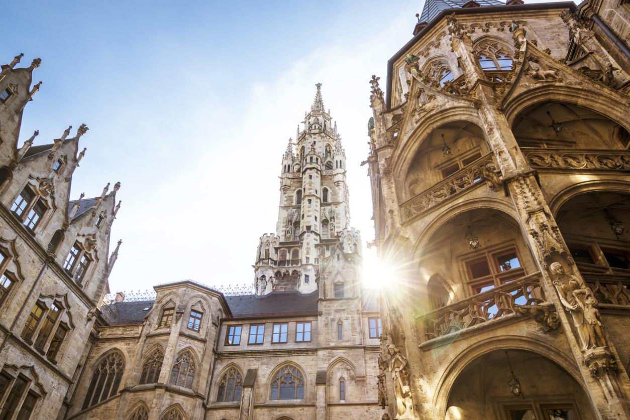 <p>Красивият Мюнхен, Германия</p>