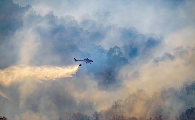 Овладяха големия пожар край Твърдица