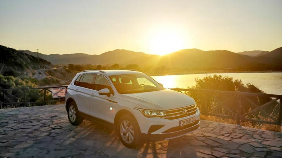 <p>VW Tiguan отново задава тона за песен (тест драйв)</p>