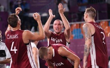 Латвия е първият олимпийски шампион в баскетбола 3х3 при мъжете