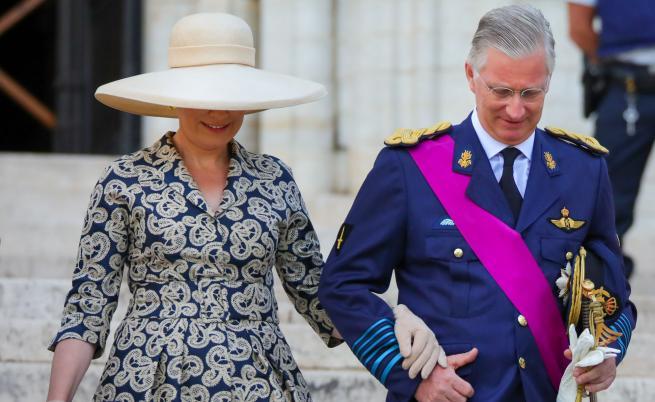 Кралят на белгийците Филип и съпругата му Матилде