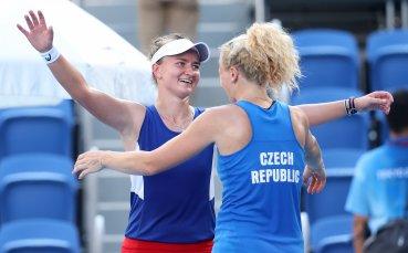Крейчикова и Синякова донесоха злато на Чехия в женския турнир по тенис