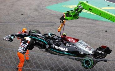 Катастрофа спря временно Гран при на Унгария