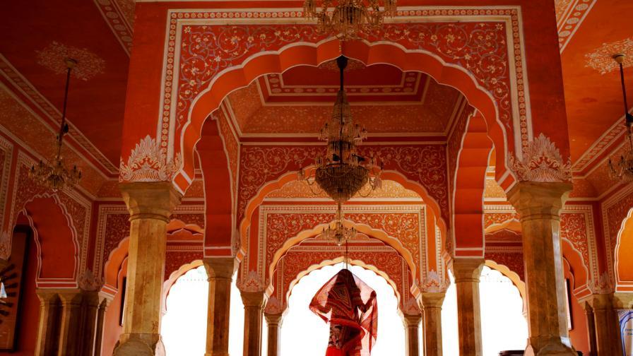 Красиви гледки от Джайпур, щата Раджастан...
