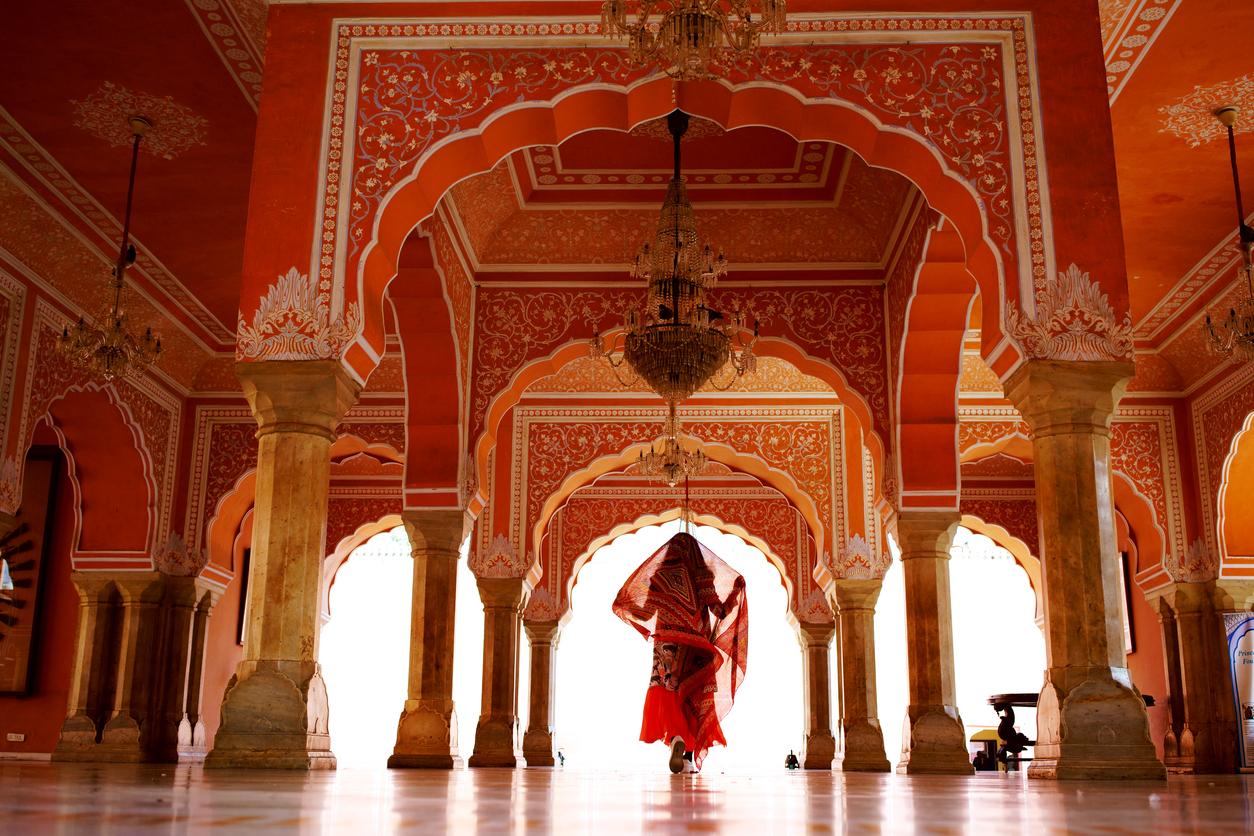 <p>Красиви гледки от Джайпур, щата Раджастан, Индия</p>