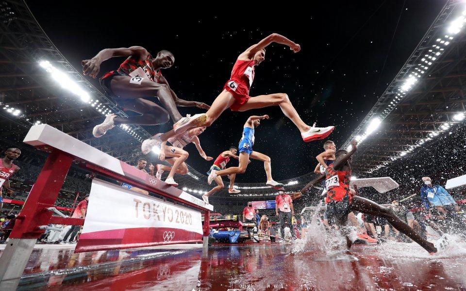 Мароканецът Ел Бакали спечели титлата на 3000 м стипълчейз
