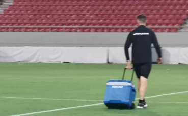Лудогорец с последна тренировка преди мача с Олимпиакос