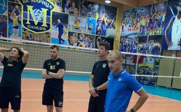 Волейболният шампион на България има нов треньор