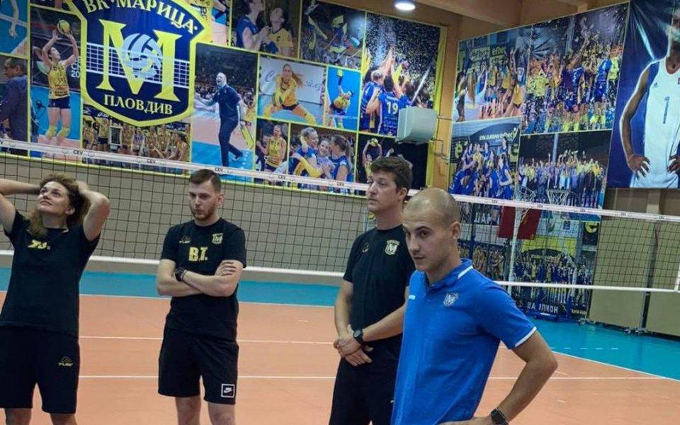 Борислав Крачанов е новият треньор на волейболния шампион на България