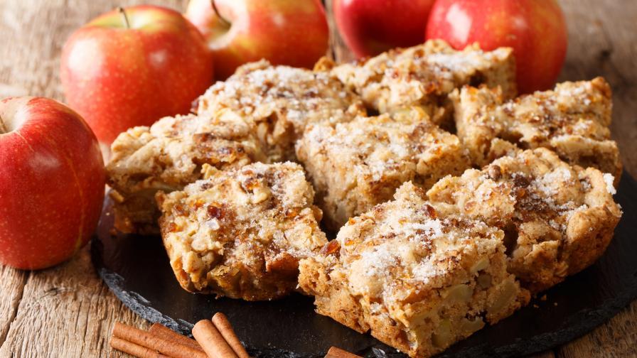 Здравословен кекс с ябълки и малко калории