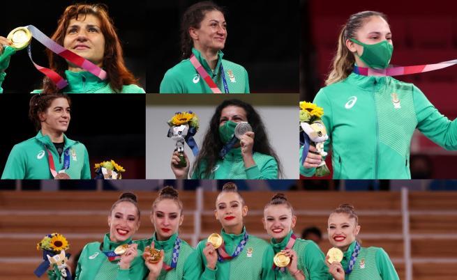 България в топ 30 на класирането по медали на Олимпиадата в Токио