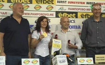 Стойка Кръстева бе наградена за Спортист на месец август