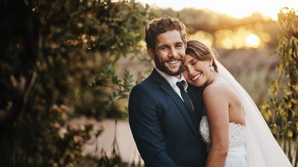 мъж жена любов сватба брак булка
