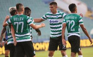 НА ЖИВО: Черно море 1:0 Локомотив София, начало на втората част