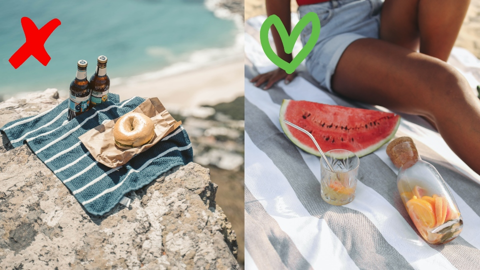 плаж храна съвети