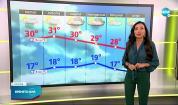 Прогноза за времето (27.08.2021 - сутрешна)