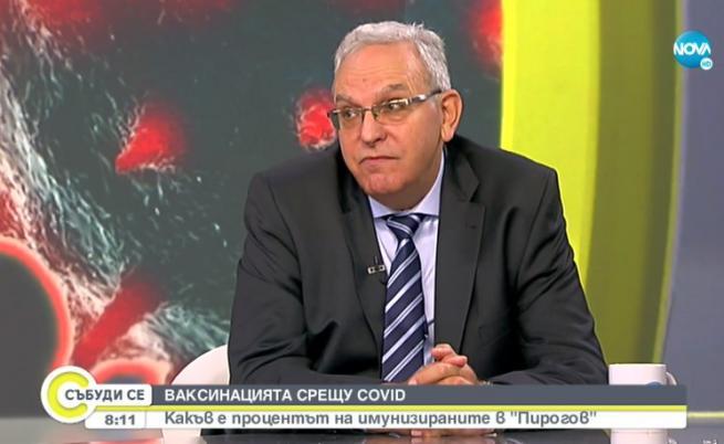 """Шефът на """"Пирогов"""": Все по-млади пациенти идват при нас заради COVID-19"""