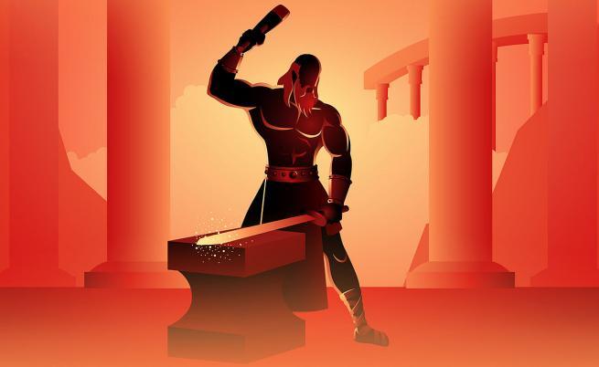 Талос - бронзовият гигант, който не знаеше, че е робот