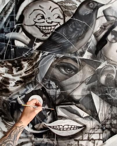 вандализъм изкуство графити