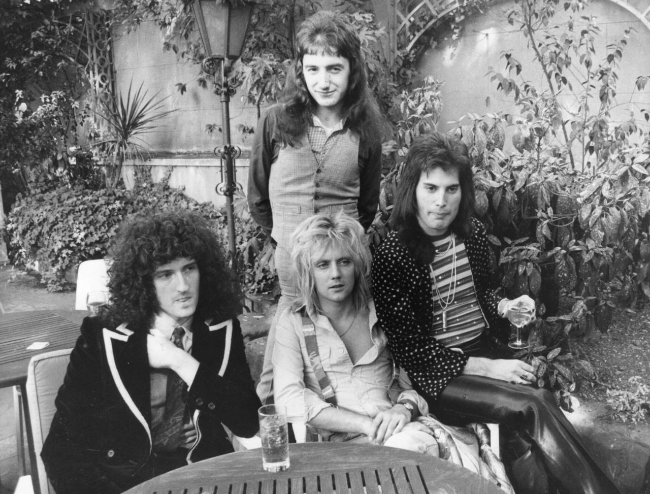 <p>Queen през 1976 г.</p>