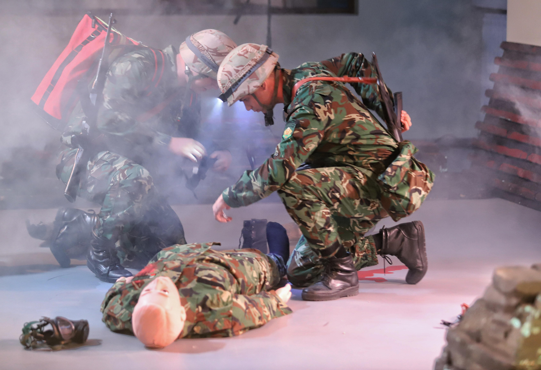 <p>ВМА откри уникален военномедицински симулационен тренировъчен център</p>