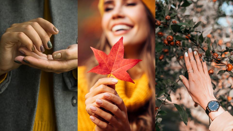 есен маникюр нокти