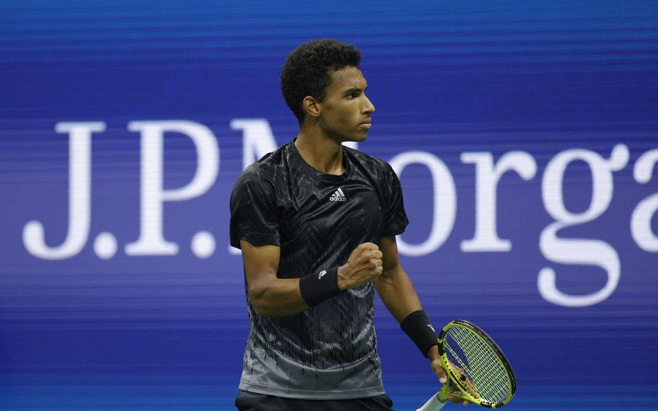 Оже-Алиасим се класира на първи полуфинал в турнир от Големия шлем