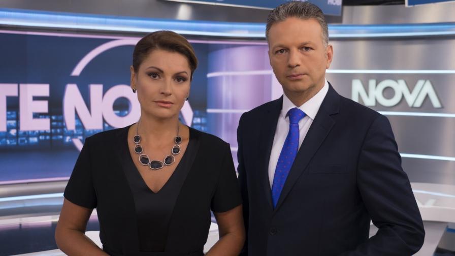 За първи път: Новините на NOVA ще се излъчват едновременно от България и САЩ на 11 септември