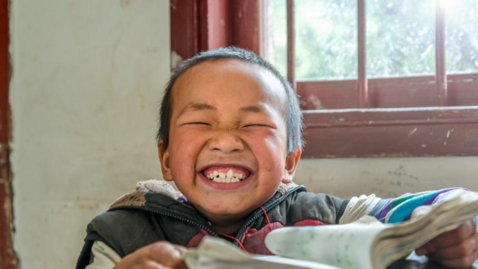 китайче момче училище Китай