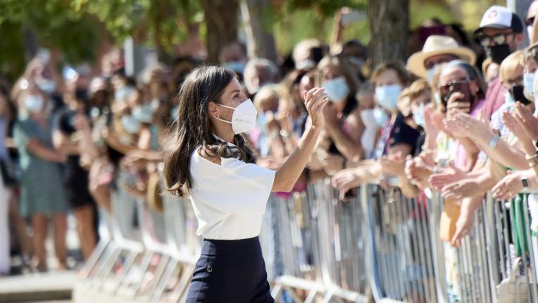 Испанската кралица Летисия на откриването на учебна година 2021/2022