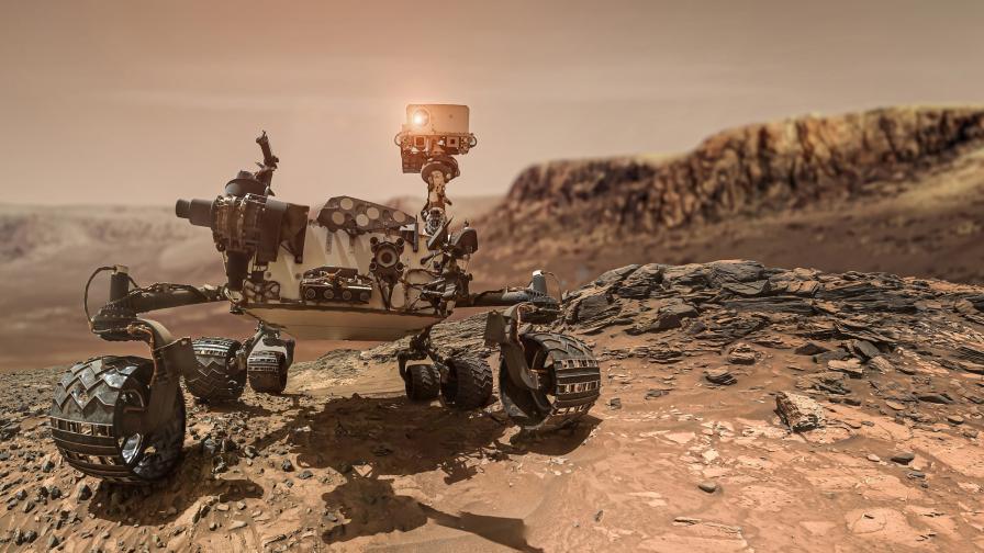 """""""Пърсивиърънс"""" взе втора проба от Марс"""