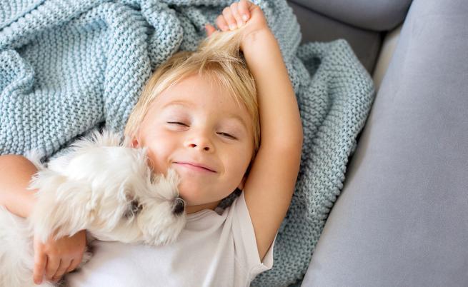 Компанията на домашното куче способства за емоционалното развитие на децата