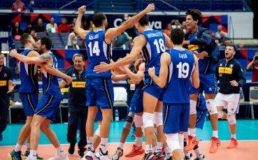 Италия и Словения се класираха на полуфинал на Евроволей 2021